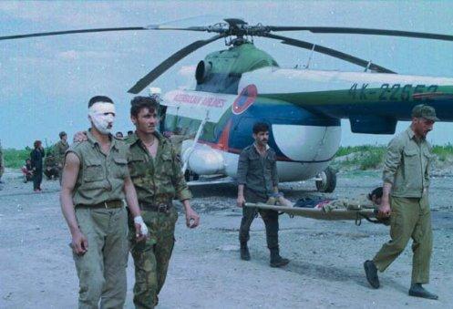 guerra de Nagorno-Karabaj heridos