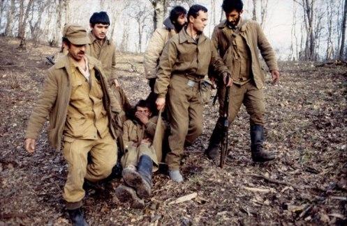 heridos armenios