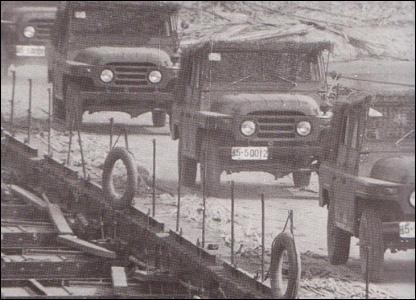 Las tropas chinas de cruzar hacia el territorio de Vietnam