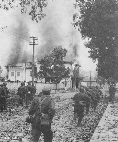 Las tropas chinas entraron en Cao Bang