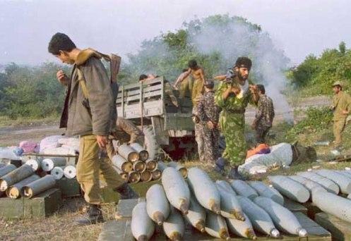 Los preparativos para el ataque. Agdere.1992.