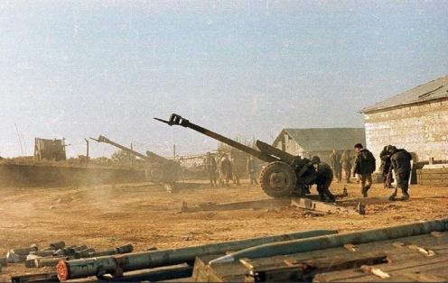 Obus  D-30 Armeniof