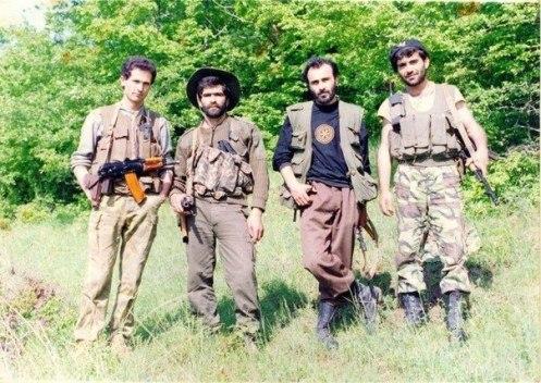 Oficiales Armenios guerra de nagorno-Karabaj 1988-1994
