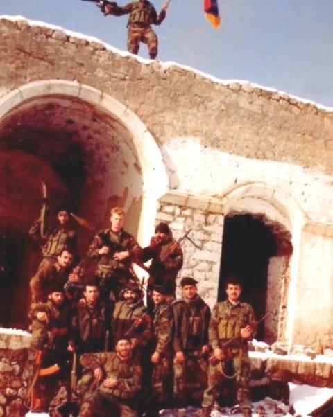 shusha cruzados de Armenia