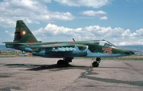 SU-25B Frogfoot-A  75     Gyumi    2004