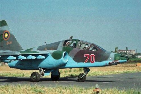SU-25UB Frogfoot-B  70    Gyumi    2004