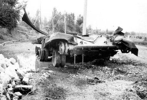 tanque T-72 de Azerbaiyán