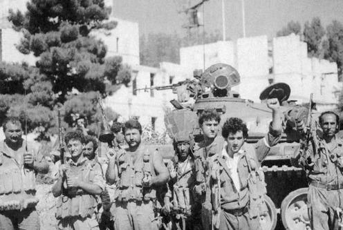tropas armenias en Agdam 1993