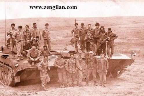 vehiculos blindados de Azerbaiyán