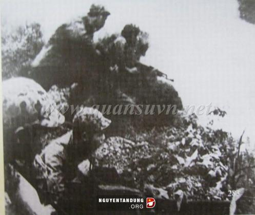 45 batallón de zapadores emboscada al enemigo en la ciudad Cao Bang