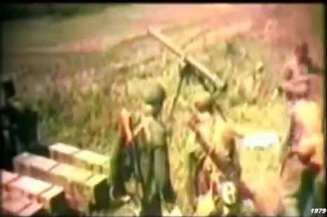 GUERRA SINO-VIETNAMITA 1979 rocket f