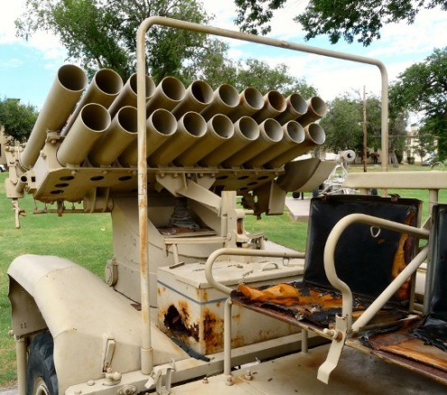 Type 63 130mm Multiple Rocket Launcher