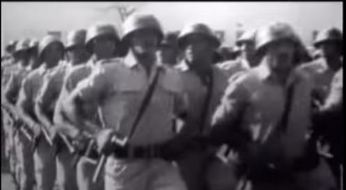 arab troops six days war 1967