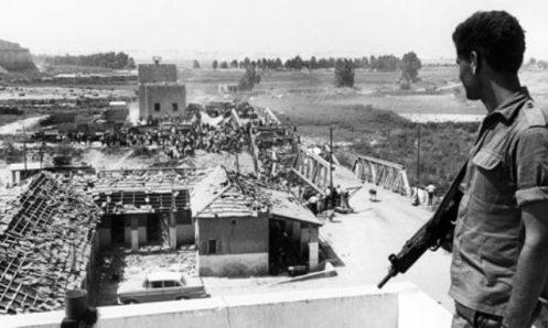 campo de prisioneros guerra de los 6 dias 1967