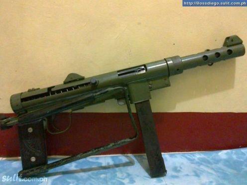 Subfusil Automático Carl Gustav M45