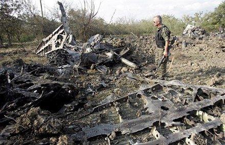 Tu-22 derribado