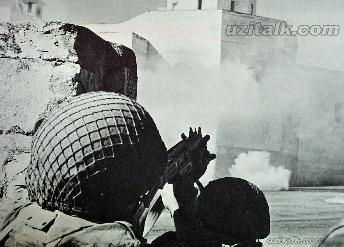 UZI en la guerra de los seis dias 1967
