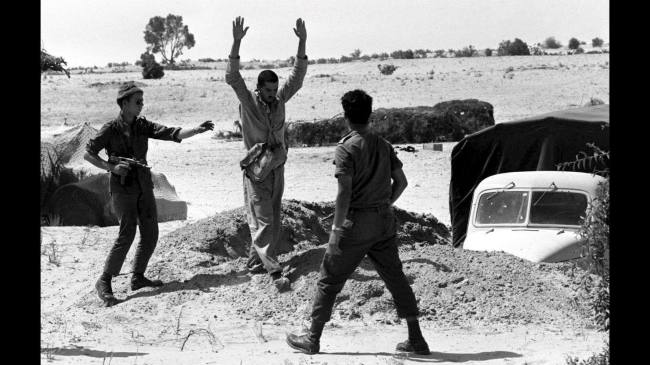 uzi submachine Six days war 1967