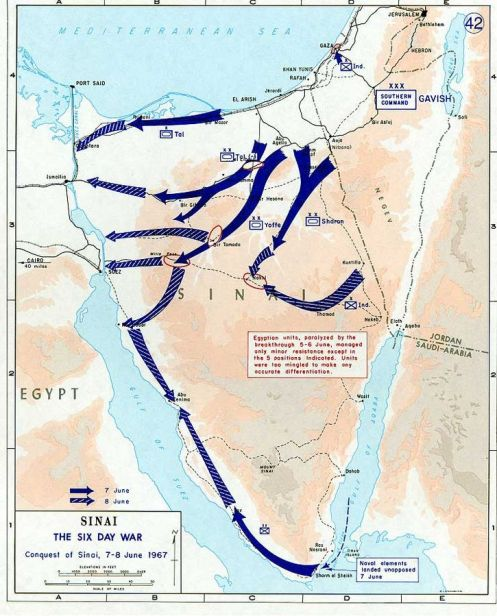 1967_Six_Day_War_-_conquest_of_Sinai_7-8_June