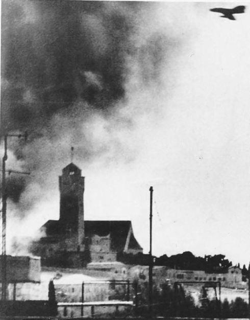 ataque aereo israeli sobre Jerusalen 1967