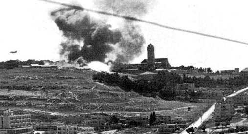 ataque israeli-jerusalen 1967