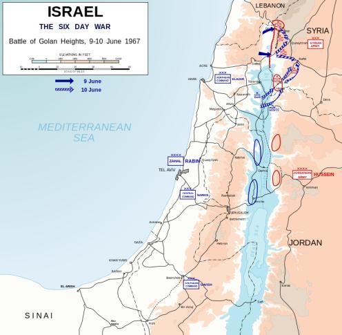 Batalla de los Altos del Golán