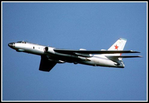 Bombardero Tu-16