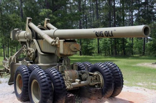 Cañón remolcado de 155mm M1 Long Tom