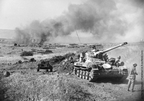 combate en los Altos del Golan