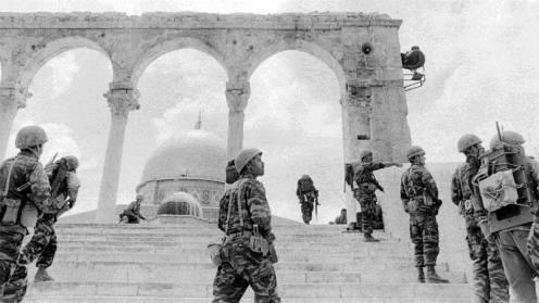 El monte del templo 1967.s