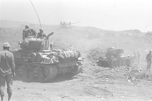 Golan guerra de los seis dias 1967