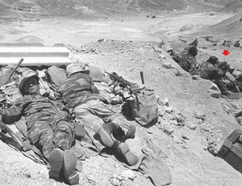 Guerra de los Seis Días 1967 FN MAG