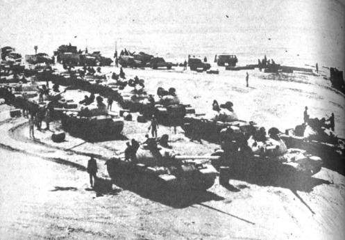 Guerra de los Seis Dias 1967  (4) tanques egipcios