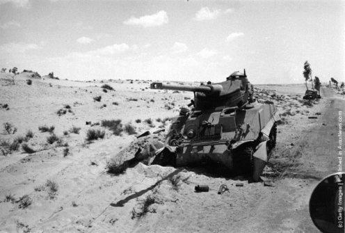 guerra de los Seis dias 1967. AMX-13 israelí (1)dd