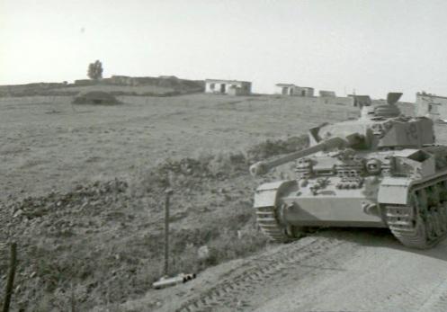 guerra de los seis dias 1967 PANZER IV