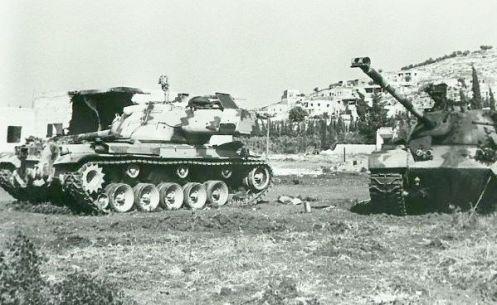 guerra de los seis dias 1967-tanques M47 jordanos (1)