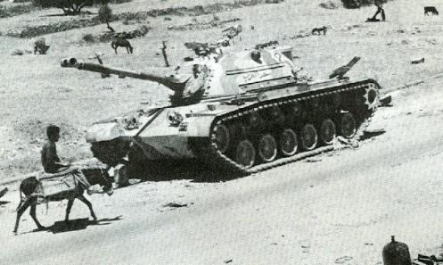 guerra de los seis dias 1967-tanques M47 jordanos (2)