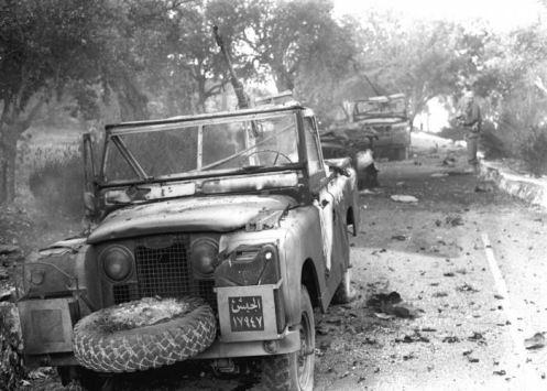 Guerra de los seis dias 1967-vehiculos de jordanos
