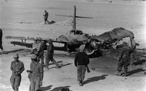 Guerra de los seis dias MIG-17 -