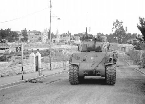 IDF forces advancing into east Jerusalem