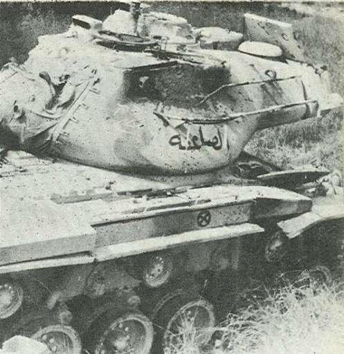 Jordaninan-M47-destroyed-by-M51-1967-