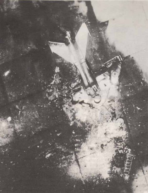 Mig-21 destruido