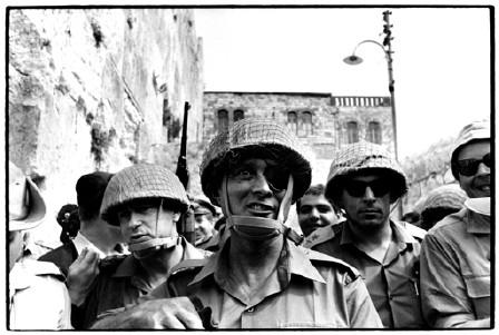 Moshe Dayan en Jerusalén