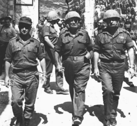 narkis-dayan-rabin-1967-jerusalem2-m-100751