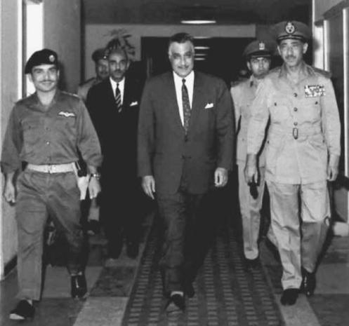 Nasser,_Hussein_and_Amer_before_signing_Egyptian-Jordanian_defense_pact