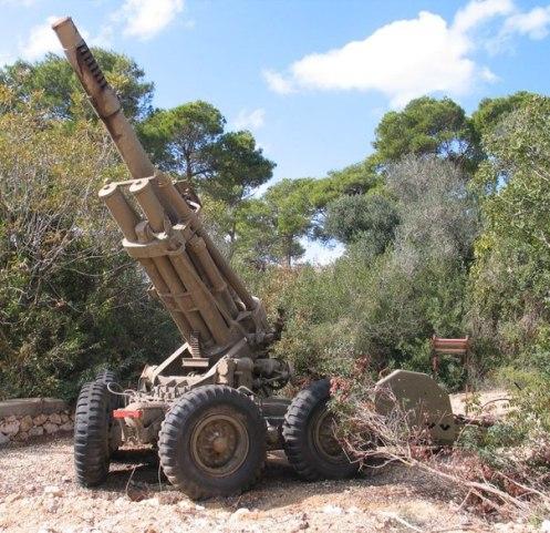 Obús M-50 museo Israel
