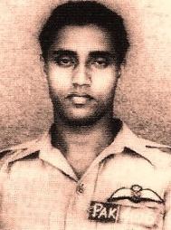 Pakistani pilot Saiful Azam