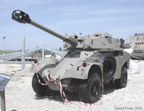 panhard aml-90 israel
