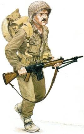Paracaidista israelí 1967
