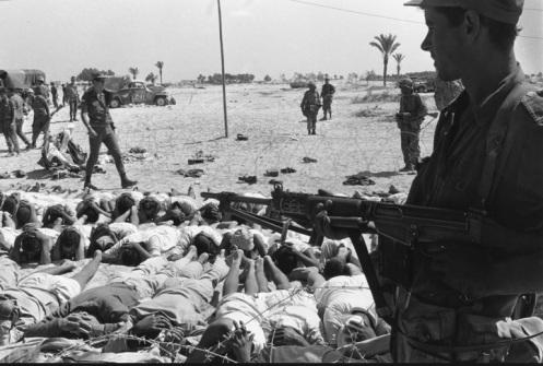 Prisioneros egipcios